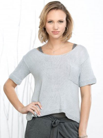 Parting Top Knit Pattern