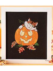 Pumpkin & Patches Cross Stitch Pattern