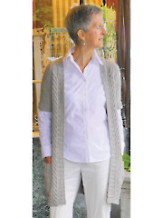 Reedsport Cardigan Knit Pattern