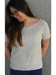 River Light Tee Knit Pattern
