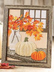 Splendor of Autumn Cross Stitch Pattern