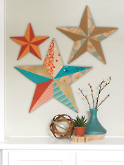 Fabriflair Wall Art Stars Sewing Pattern