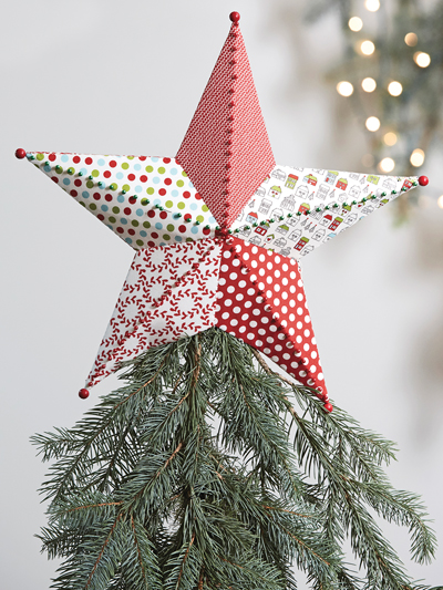 Fabriflair Tree Topper & Ornament Sewing Pattern