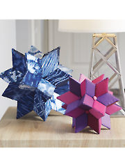 Fabriflair Centerpiece Stars Sewing Pattern