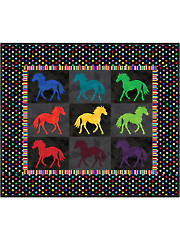 Painted Ponies Quilt Pattern