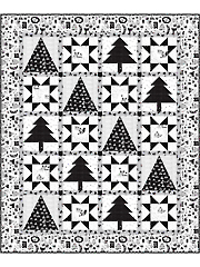 Starry Teepees Quilt Pattern