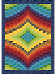 Twin Diamond Quilt Pattern