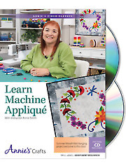 Learn Machine Applique Class DVD