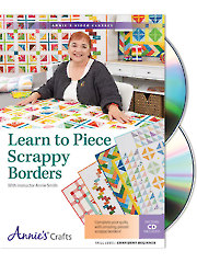 Learn to Piece Scrappy Borders Class DVD