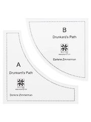Drunkard's Path Acrylic Tool