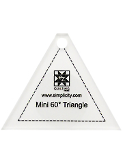Jelly Roll Ruler - Mini 60 Degree Triangle