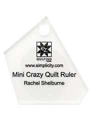 Jelly Roll Ruler - Mini Crazy Quilt Ruler