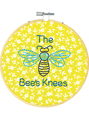 The Bee's Knees Embroidery Kit
