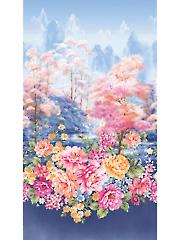 """Garden Grandeur Panel 44"""" x 24"""""""