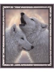 "Wolves Digital Panel 36"" x 44"""