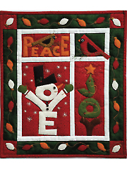 Love, Joy, Peace Quilt Kit