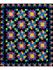Midnight Gems Quilt Pattern