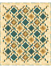 Tiles & Lattice Quilt Pattern