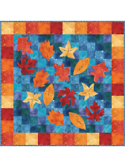Leaves on a Pond Quilt Pattern