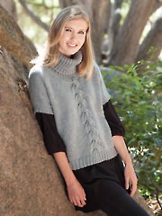 ANNIE'S SIGNATURE DESIGNS: Shadowplay Pullover Knit Pattern