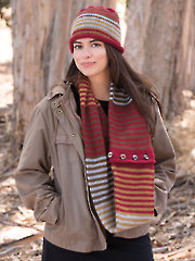 ANNIE'S SIGNATURE DESIGNS: Fun, Chunky & Fast Knit Hat & Cowl