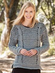 ANNIE'S SIGNATURE DESIGNS: Kista Pullover Crochet Pattern