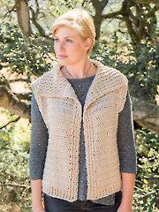 ANNIE'S SIGNATURE DESIGNS: Tolosa Vest Crochet Pattern