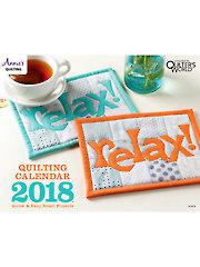 Quilting Calendar 2018