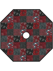 Christmas Traditions Skirt Quilt Pattern