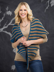 ANNIE'S SIGNATURE DESIGNS: Undulating Waves Scarf Knit Pattern