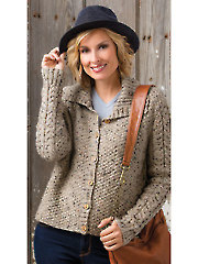 Around Town Cardigan Knit Pattern