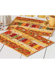 Autumn Roads Place Mats Pattern