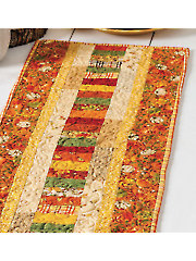 Autumn Roads Table Runner Pattern