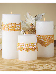 Candle Glitter Wraps