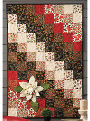 Magnolias for Christmas Quilt Pattern