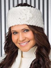 Snow Flower Headband