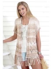 4457: Ladies Cardigan & Waistcoat Knit Pattern
