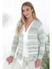 4766: Cardigan & Shawl Knit Pattern
