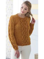 4817: Ladies Sweater & Vest Knit Pattern