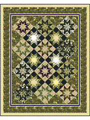 Tapestry Stars Quilt Pattern