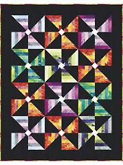 Poppin' Pinwheels Quilt Pattern
