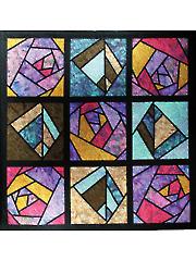 Rose Window Quilt Pattern