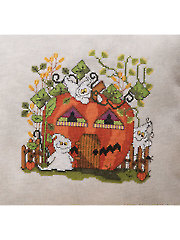 The Pumpkin Palace Cross Stitch Pattern