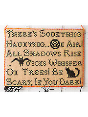 Halloween Advice Cross Stitch Pattern