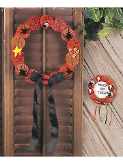 Jeepers Creepers Halloween Wreaths Pattern