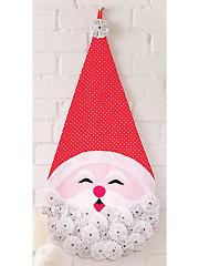 Yo-Yo Ho-Ho Santa Pattern