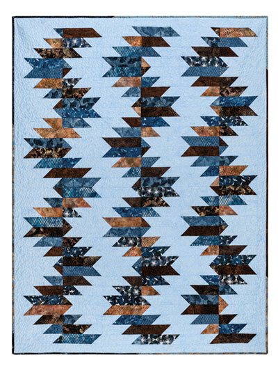 EXCLUSIVELY ANNIE'S QUILT DESIGNS: Buzz Saw Quilt Pattern