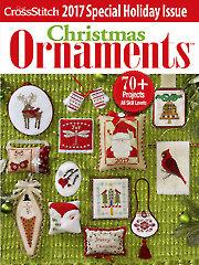 Just CrossStitch Ornaments 2017