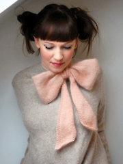 Bo Peep Scarf Knit Pattern
