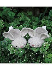 Hopsalots Slippers Knit Pattern